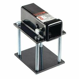 """Towever 83801 RV Bumper Hitch Receiver 2"""" Adapter for 4"""""""