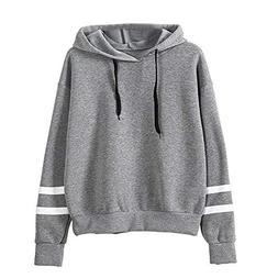 Trendinao Womens Sweatshirt Casual Hoodie Sweatshirt Jumper
