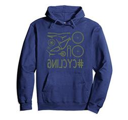 Unisex #CYCLING Bike Parts - Fun Hoodie For Cyclists Small N