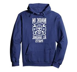 Unisex Made In 1948 All Original Parts Birthday Gift Hoodie