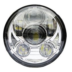 """Wisamic 5-3/4"""" 5.75"""" LED Headlight - Compatible with Dyna St"""