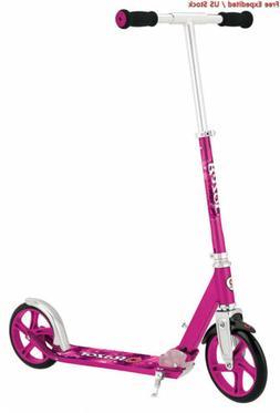 Razor A5 Lux Kick Scooter , Pink