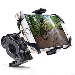 MICTUNING Bike and Motorcycle Cell Phone Mount, Universal Fo