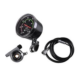 AGPtekNew Analog Speedometer Resettable odometer Classic Sty