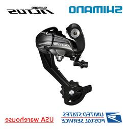 Shimano Altus RD-M370 9-Speed SGS Rear Derailleur Black