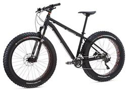 "Mongoose Argus Expert Fat Tire Bicycle 26"" Wheel, Black, 17"