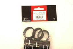 "FSA Bag of 10 1-1/8""x10mm Headset Spacers Black Alloy with L"