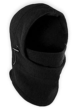 Balaclava Fleece Hood & Windproof Ski Mask - Heavyweight Ext