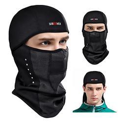 KINGBIKE Balaclava Ski Mask Motorcycle Running Full Face Cov