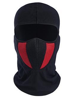 ChinFun Balaclave Cotton Spandex Windproof Ski Mask Cold Wea