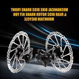 2pcs Bike Disc Brake Front Rear Disc 160 mm Rotor Brake Kit