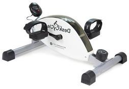 DeskCycle Best Desk Exercise Bike Pedal Exerciser, White  -