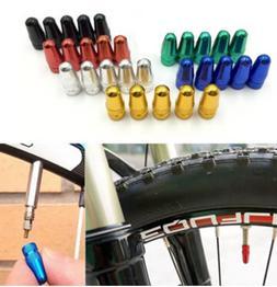 bicycle 2x presta air valve cap dust