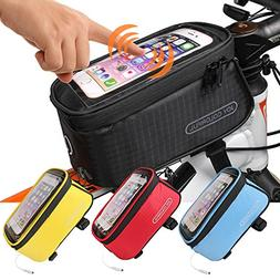JOY COLORFUL Bicycle Bags Front Tube Frame Cycling Packages