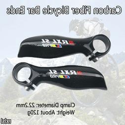 RXL SL Bicycle Carbon Fiber Handlebar Bar End MTB Mountain B