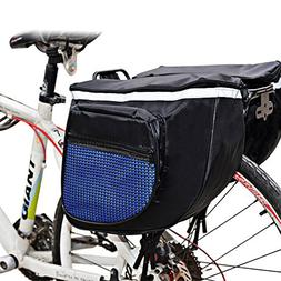Meanhoo Bicycle Carrier Rack Pannier Bag for Cycling ;Quick