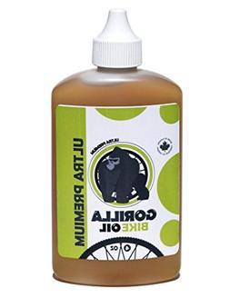 Premium Bicycle Chain Oil Lubricant By Gorilla Bike Oil, Per