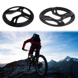 Bicycle Chain Wheel Cover Plastic Plate Protective Guard Piv