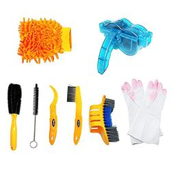 Bicycle Cleaning Tool Kits 8 Pieces Bike Cleaning Toll Bike