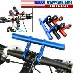 Bicycle Extension Mount MTB Bike Handlebar Headlight Bracket