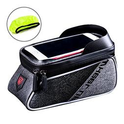 WATERFLY Bicycle Frame Bag Bike Front Tube Handlebar Bag Cyc