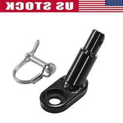 Bicycle Go-cart Rear Rack Trailer Hitch Mount Adapter Axle B