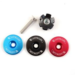 "FSA Bicycle Headset Star Nut & Top Cap Set // 1-1/8"" // Blac"