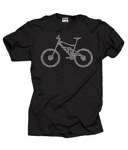 Bicycle Parts T-Shirt BMX Fan Tee Shirt