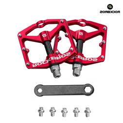 RockBros Bicycle Pedals Road Bike MTB Carbon Fiber Sealed Be