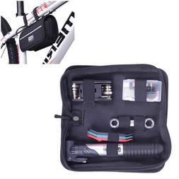 Bicycle Repair Tools Kit Bike Pump Cycling Screwdriver Maint
