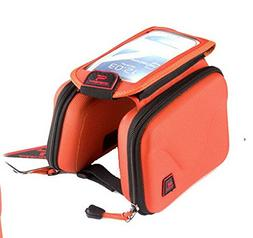 The Bicycle Saddle Pack - Tube Before Package with A Mobile