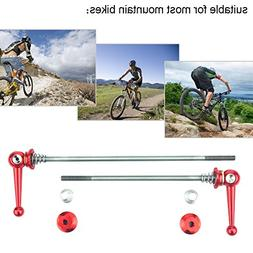 2Pcs Bicycle Skewers Ultralight Titanium Alloy Quick Release