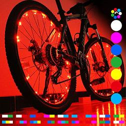 OUTDRSY  Bicycle Wheel Lights for Riding Bike at Night, Wate