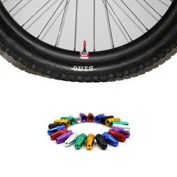 Bike Bicycle MTB Presta Wheel Rim Tyre Stem Air Valve Cap Du