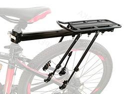 PEXIQAKA Bike Carrier Rack  Aluminum Alloy Universal Adjusta