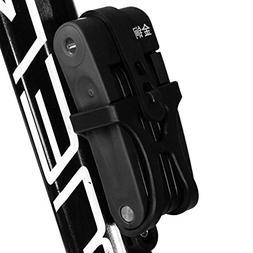 Alloy Steel Folding Bike Lock,for Bicycle,Mountain bike, Ele