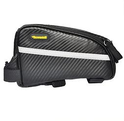 Rhinowalk Bike Front Tube Bag 7 inch High Capacity Waterproo