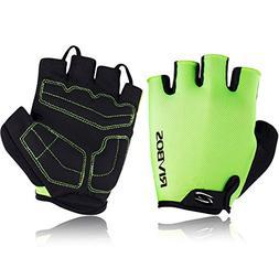 RIVBOS Bike Gloves Cycling Gloves Fingerless for Men Women w