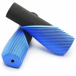 TOPCABIN Bike Grips,Ergonomic Design Two-Color Rubber Bicycl