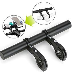 Meanhoo 1 Pcs Bike Handlebar Extender, Bicycle Double Clamp