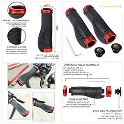 TOPCABIN Bike Handlebar Grips,Ergonomic Design Bicycle Handl