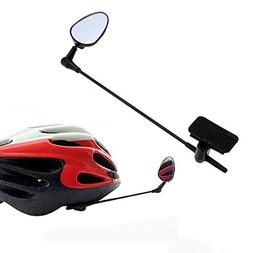 Bike Helmet Mirror for Adult and Kids, Adjustable Road Bicyc