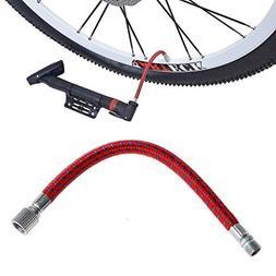 ForShop Bike Inflate Pump Hose Adapter Bicycle Tyre Pump Hos