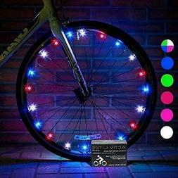 Activ Life Bike Lights 2 Pack  Best Fitness Gifts for Grand