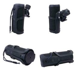 Bike Mount Holder With Clamp For Jbl Flip 4/3 Bluetooth Spea