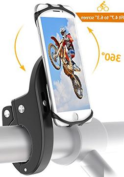 Bike Mount, Bovon Universal Bicycle Phone Holder, Adjustable