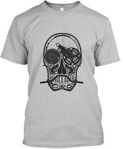 Bike Parts Skull Premium Tee T-Shirt