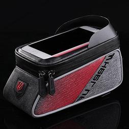 Bike Phone Bag Waterproof Bike Bag with Ultra Sensitive Scre