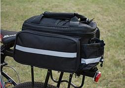 New Bike Rear Seat Tail Pannier Bag Carrying Luggage Bicycle