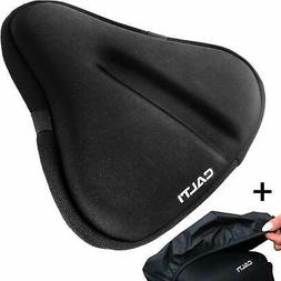 Large Bike Seat Cushion Gel Padded Cover - Bicycle Wide Soft